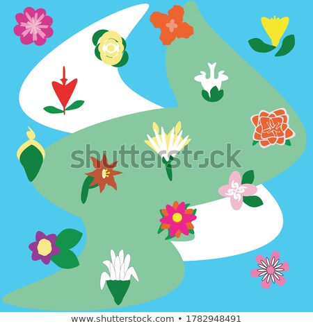 various colorful abstract icons set 15 stock photo © cidepix