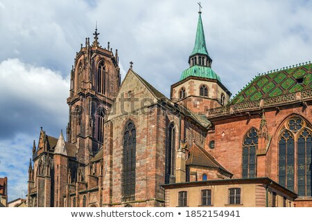 St. George's Church, Selestat, Alsace, France Stock photo © borisb17