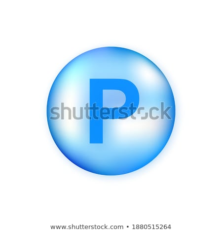Blue pills for healthy diet nutrition, supplements pill and prob Stock photo © Anneleven