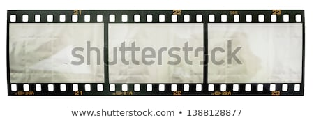 Stripe with Shots, Filming Strip Isolated Cinema Stock photo © robuart