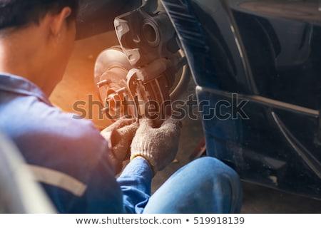 車 メカニック 作業 ディスク ピン 安全 ストックフォト © simazoran