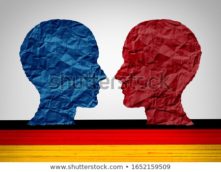 Germany Left And Right Wing Stock photo © Lightsource