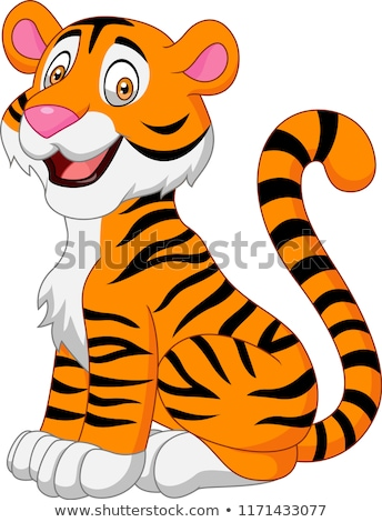 cheerful tiger stock photo © get4net
