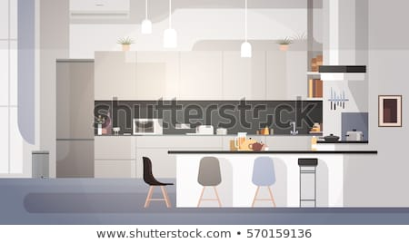 Cooking Appliance for Kitchen Interior Vector Stock photo © robuart