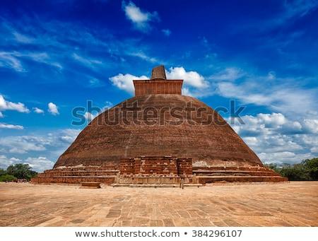 Jetavaranama dagoba Buddhist stupa, Anuradhapura, Sri Lanka Stock photo © dmitry_rukhlenko