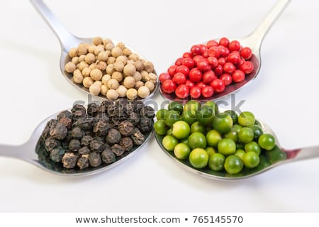 Spoon of red peppercorn Stock photo © Alex9500