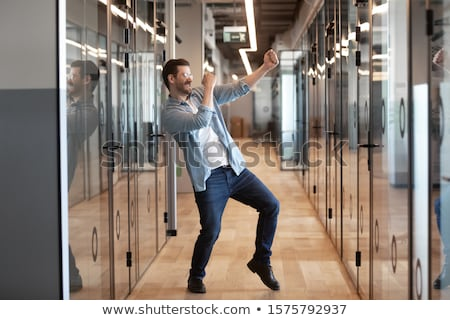 dancing businessman Stock photo © Paha_L