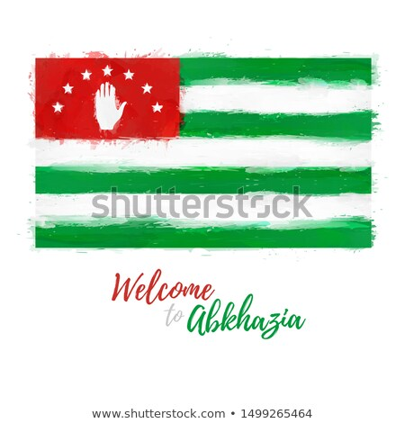 Abkhaz Grunge Flag Stock photo © HypnoCreative
