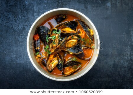 mussel soup Stock photo © phbcz