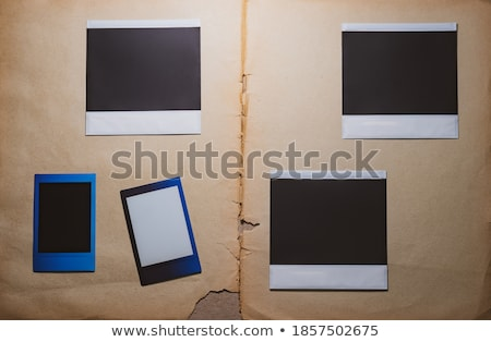 Polaroid · ilustración · pared · papel - foto stock © smithore