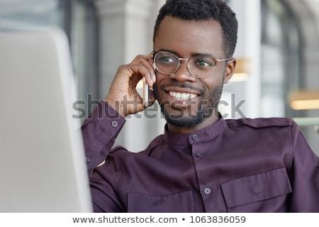 Dizüstü bilgisayar iş bilgisayar kadın ofis Stok fotoğraf © photography33