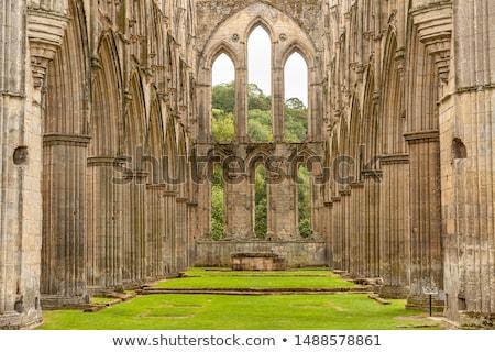 Abadia cênico ver ruínas norte Foto stock © CaptureLight