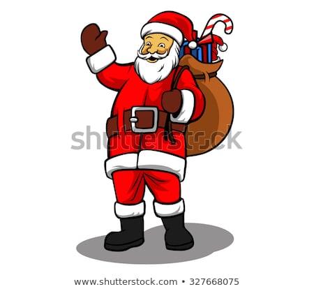 Santa with Goodies Stock photo © vectomart