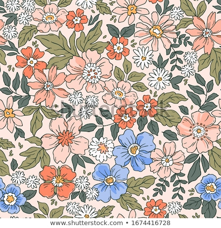 seamless retro vintage pattern stock photo © creative_stock