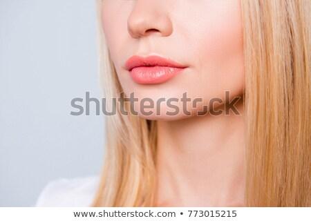 クローズアップ 唇 口紅 顔 ファッション 口 ストックフォト © wavebreak_media