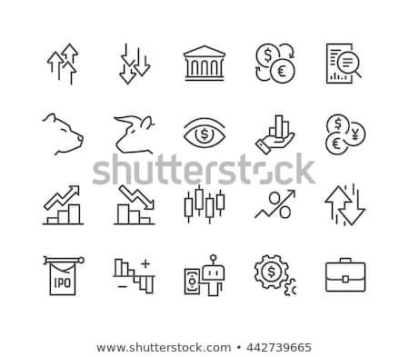 Vector icon stock Stock photo © zzve