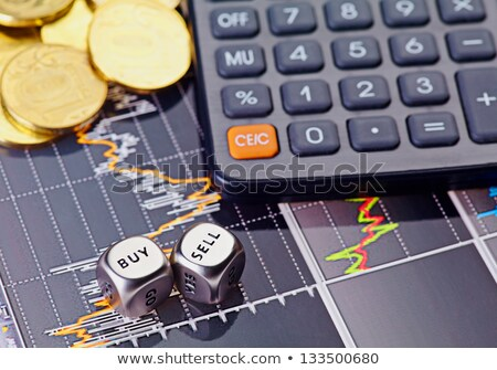 risk management in golden cubes Stock photo © marinini