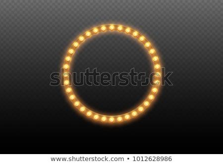 цвета неоновых свечение три фон металл Сток-фото © taden
