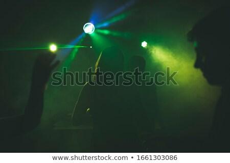 Baile ninas siluetas ambiente vector arte Foto stock © lirch