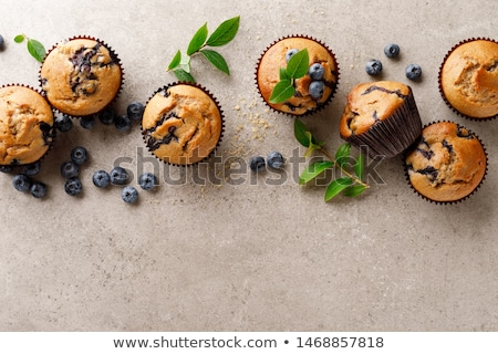 Background With Muffins Stock photo © adamson