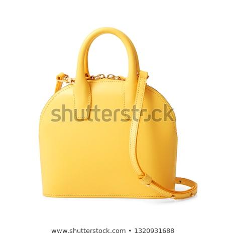 женщины сумку изолированный белый женщины моде Сток-фото © ABBPhoto