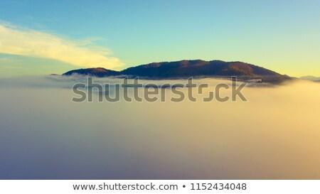 Aéreo mullido nubes vista alto como Foto stock © lunamarina