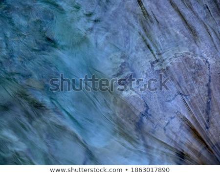 Színes kövek hideg víz patak Yosemite Stock fotó © meinzahn