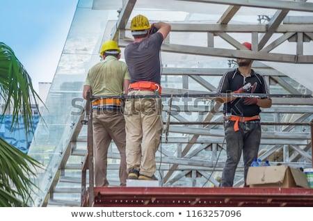 Construction site in Batumi Stock photo © joyr