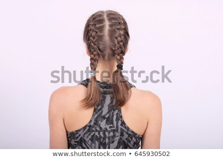 Braid from a teenage girl stock photo © DNF-Style