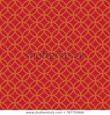 seamless chinese coins pattern stock photo © creative_stock