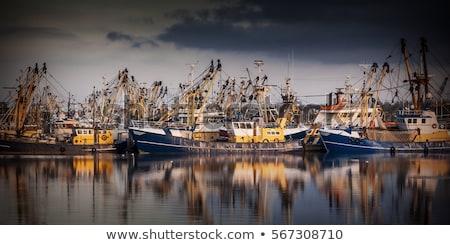 釣り ボート 港 ビーチ 海 海 ストックフォト © alex_grichenko