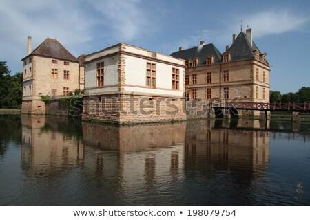 Cormartin castle in Burgundy, France Stock photo © Hofmeester