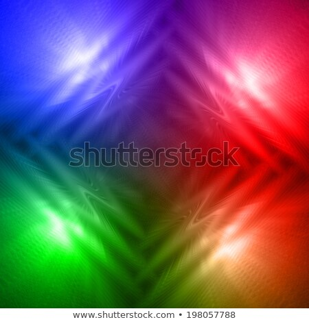 abstract motley rainbow background with four shining lines and w Stock photo © marinini