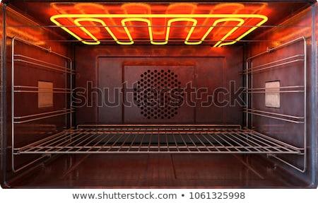 Ogrzewania mały grill grill Zdjęcia stock © Stocksnapper