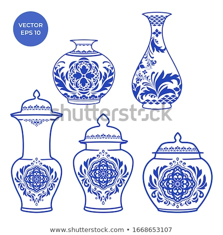 Chinese Porcelain Vase Stock photo © dezign56