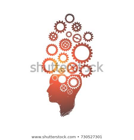 Brainstorm Concept on the Gears. Stock photo © tashatuvango
