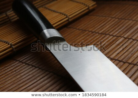 Criminal with large sharp knife Stock photo © stevanovicigor