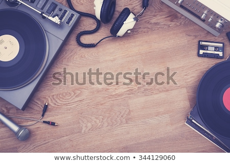 headphones and amplifier set Stock photo © tracer