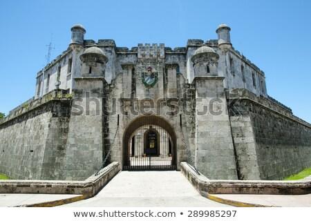 ラ 本当の 古い ハバナ キューバ 建物 ストックフォト © phbcz