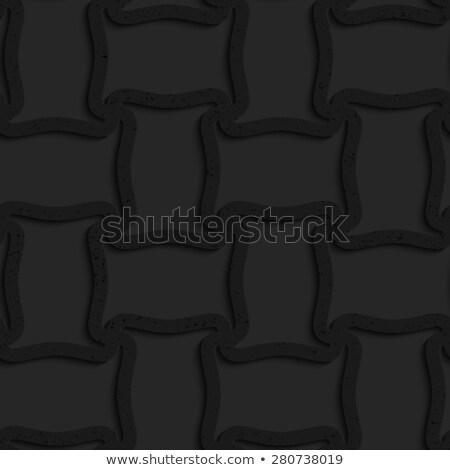 Mintázott fekete műanyag cséve forma hálózat Stock fotó © Zebra-Finch