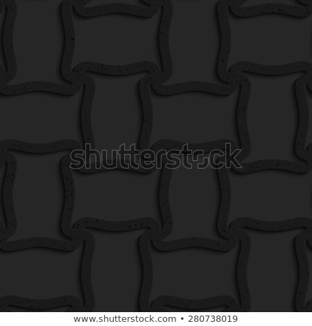 textured black plastic spool shape grid stock photo © zebra-finch