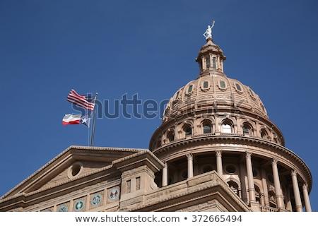 Texas · mapa · bandera · forma · 3D · aislado - foto stock © bigalbaloo