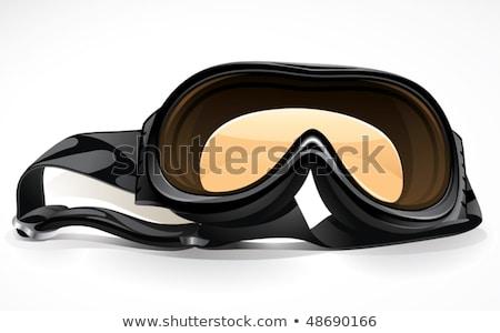 Tinted ski goggles Stock photo © Morphart