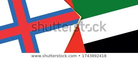 Emirati Arabi Uniti bandiere puzzle isolato bianco Foto d'archivio © Istanbul2009
