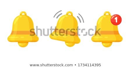 alert sign golden vector icon design stock photo © rizwanali3d