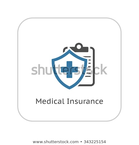 Life Insurance and Medical Services Icon. Flat Design. Stock photo © WaD