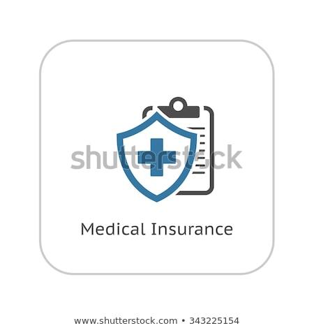 sintoma · médico · serviços · ícone · projeto · isolado - foto stock © wad