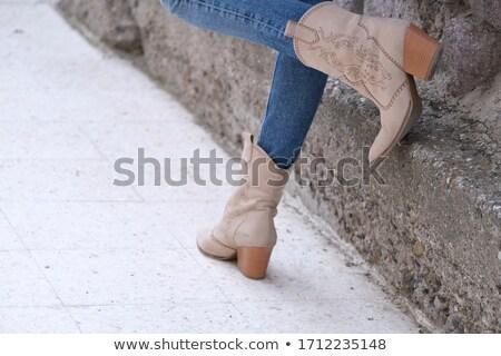 sexual · menina · pedra · água · mulheres · mar - foto stock © mrakor