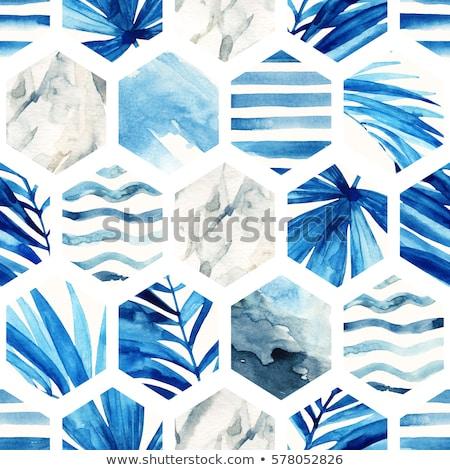 幾何学的な スタイル 夏 デザイン パステル ストックフォト © ivaleksa