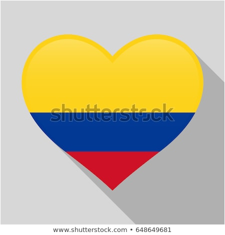 bandiera · Colombia · illustrazione · blu · grafica - foto d'archivio © netkov1
